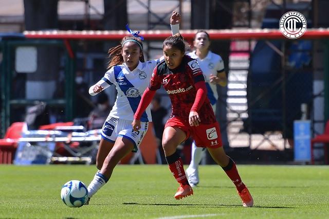 Puebla Femenil deja ir su primera victoria; caen 2-1 ante Toluca