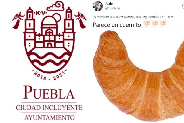 Se burlan en redes de la nueva imagen institucional de Puebla
