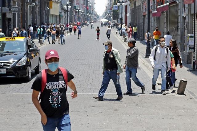 Gana tasa de contagio en Puebla a Guadalajara y Monterrey