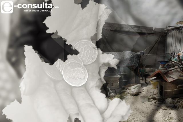 Crece pobreza hasta 25% en 129 municipios de Puebla: Coneval