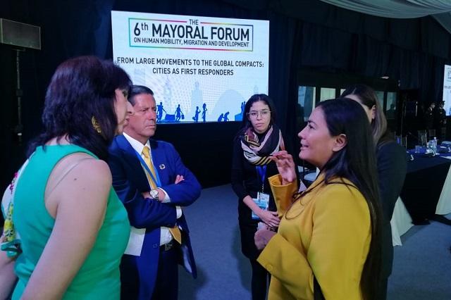 Participa Puebla en foro de alcaldes realizado en Ecuador