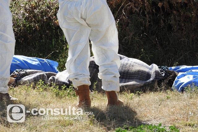 Convierten el norte de Puebla capital en tiradero de cadáveres