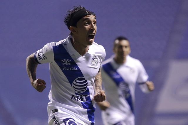 Puebla se impone 2-1 a León en la ida de los Cuartos de Final