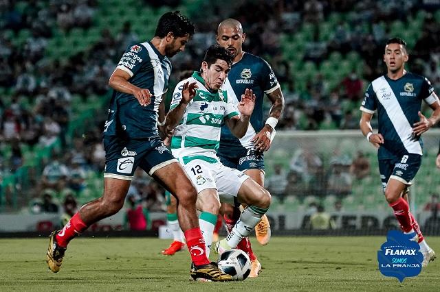 Puebla deja escapar la victoria de último minuto, ahora ante Santos