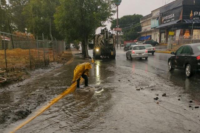 Agua de Puebla desazolvó 820 kilómetros de la red de drenaje
