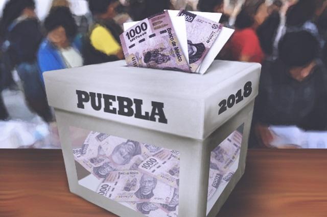 Pagaron los poblanos 1,667 mdp por las elecciones de 2016 y 2018