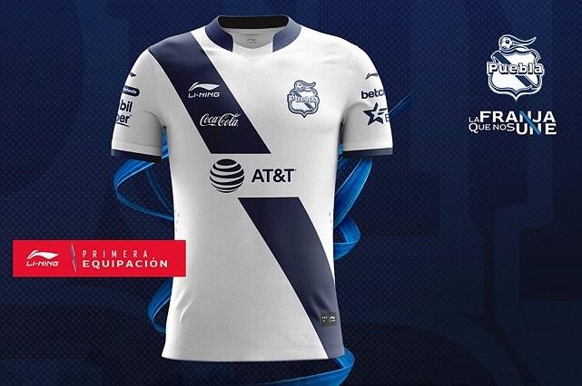 AT&T es nuevo patrocinador del Club Puebla y franja naranja genera polémica