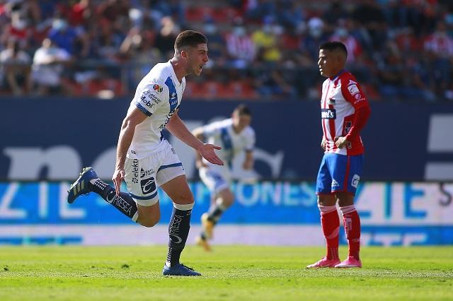 Club Puebla golea 4-1 al San Luis y se encamina a la liguilla