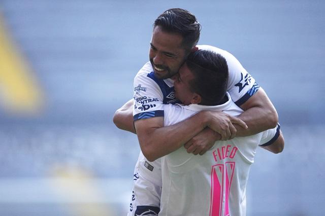 Puebla le gana al Atlas y aún sueña con la liguilla