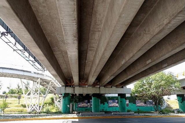 Puente en Las Torres y Atlixcáyotl no presenta daños: Infraestructura
