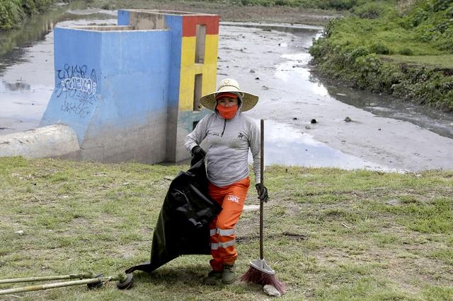 Legislador poblano pide protección para trabajadores de limpia