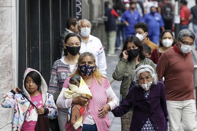 Bajaron cifras de contagios y muertes por Covid en Puebla