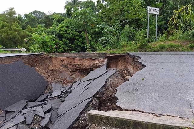 En alerta roja 27 municipios de Puebla por las lluvias de Katia