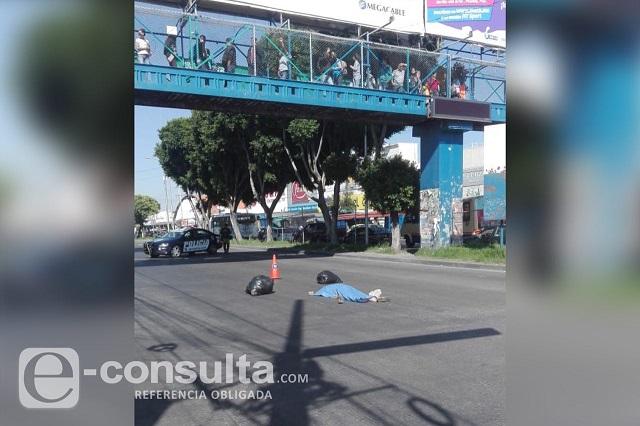 Se ahorró la subida al puente peatonal y murió atropellado, en la CAPU