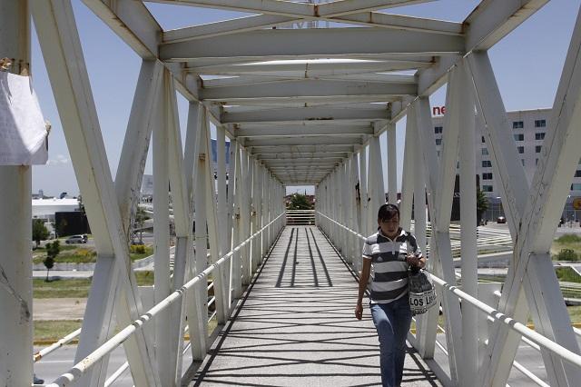 Piden a Gali desista de hacer más puentes peatonales