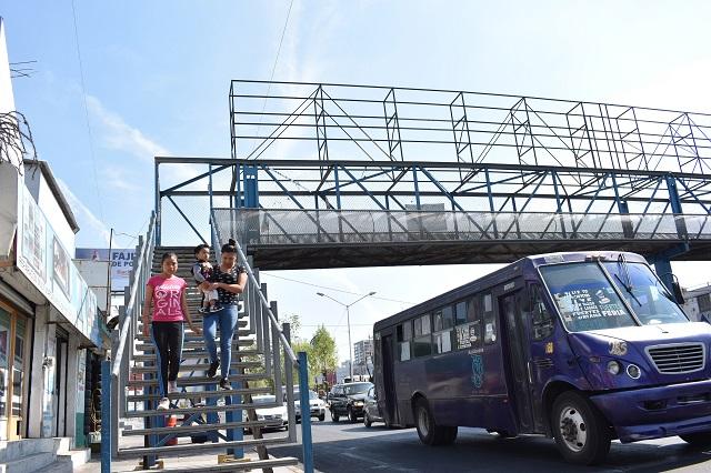 Por inservibles, retirarán 5 puentes peatonales de la capital