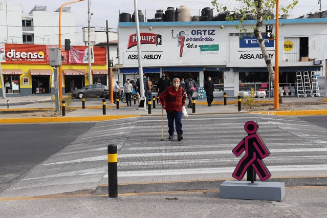 Retira el Ayuntamiento puentes antipeatonales