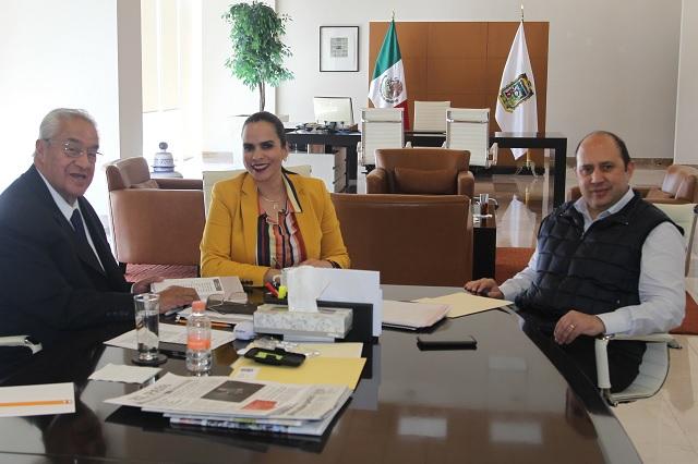 Pacheco Pulido a favor de crear la Secretaría de Cultura estatal