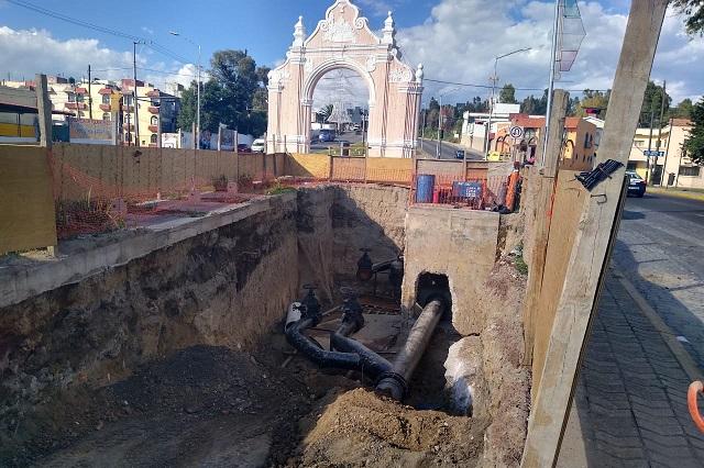 Obras por 416 mdp realiza Agua de Puebla al cierre de 2019