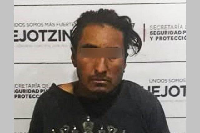 Detiene policía de Huejotzingo a presunto agresor sexual