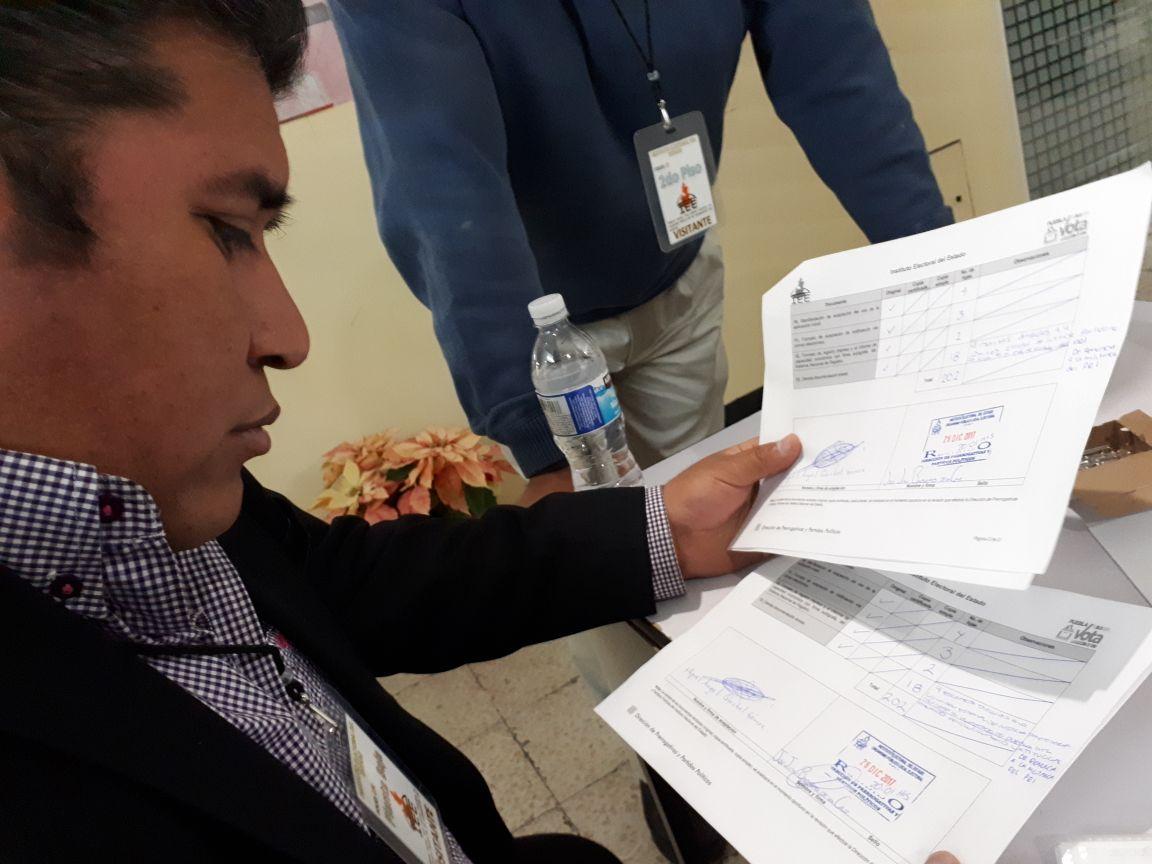 Piso parejo para candidatos en  San Andrés, reclama  Quechol