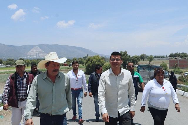 Arreglarán carretera ediles de Quecholac y Palmar de Bravo