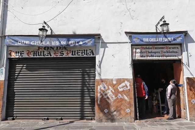 Covid-19 lleva al cierre de restaurante Qué Chula es Puebla