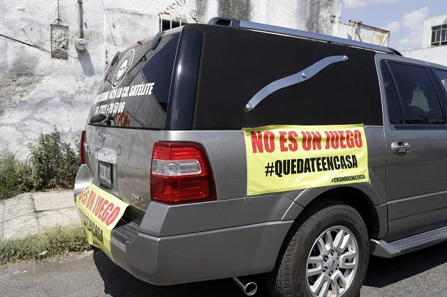 Diputados piden frenar abusos de funerarias por Covid en Puebla