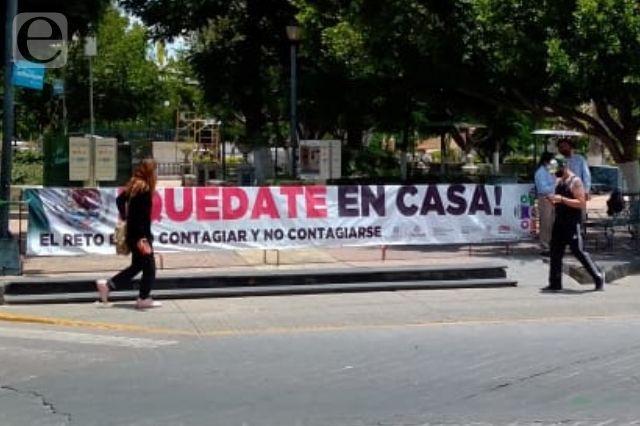 Cierran parque Juárez y Jardín Guadalupe en Tehuacán
