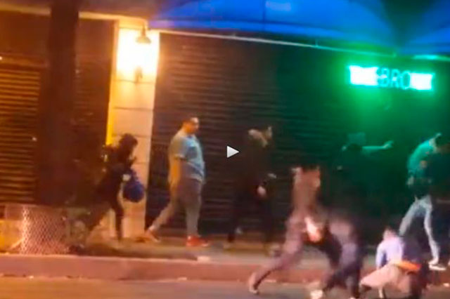 Presenta denuncia el joven que fue atacado frente a un bar de la Roma