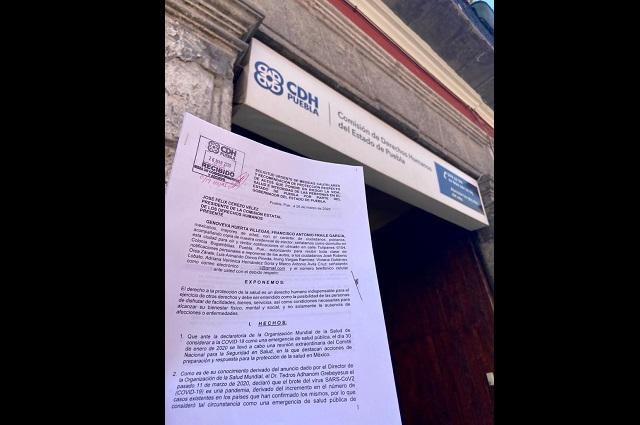 PAN denuncia a Barbosa en CDH por sus dichos sobre los  pobres