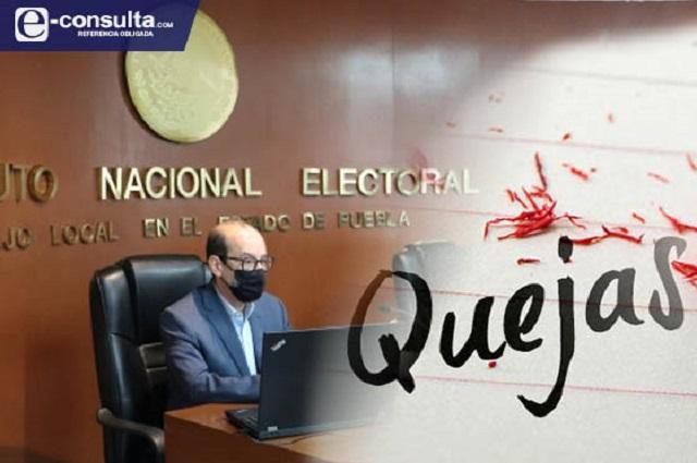 Arrastra INE Puebla quejas por despidos y retención de sueldos