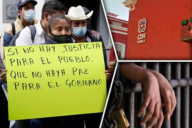 Crece pleito electoral en Coyomeapan y llega a la CDH