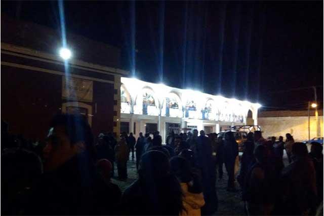Nuevo intento de linchamiento contra ladrones, ahora en Aljojuca
