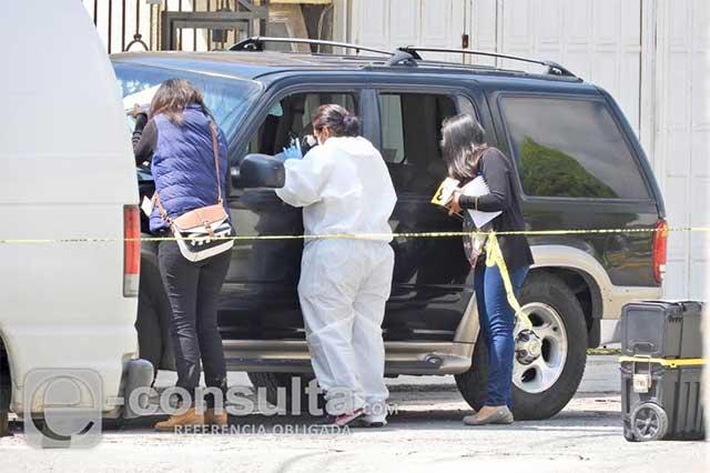 Asesinan a balazos a un hombre en San Pedro Cholula