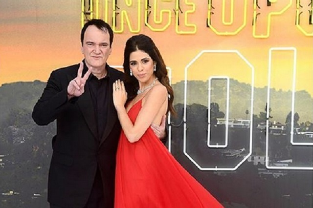 Quentin Tarantino anuncia que será papá a sus 56 años