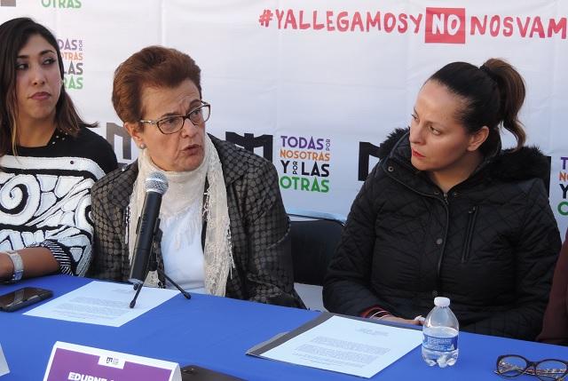 Mujeres convocan a la marcha Nos queremos seguras, el domingo