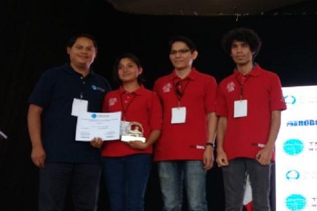 Equipo del INAOE obtiene primer lugar en Competencia de Drones