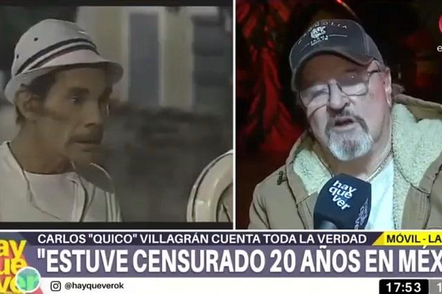 Quico cuenta lo que le dijo Don Ramón antes de morir