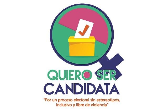 Abren en Puebla taller para quienes quieran ser candidatas en 2021