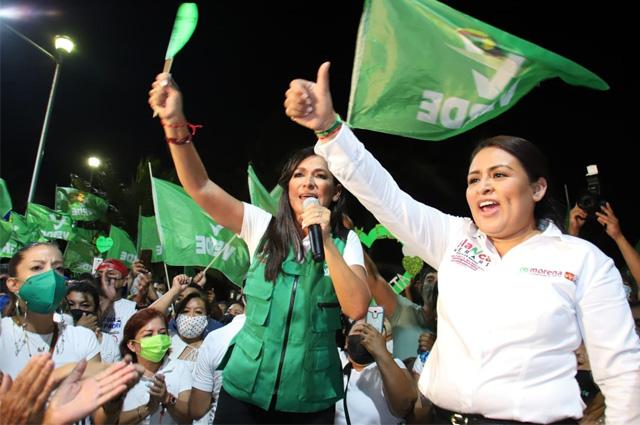 Atacan por segunda vez a candidata en Quintana Roo
