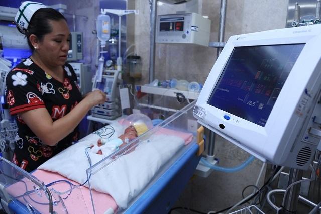 Mira las fotos de los quintillizos que nacieron en la CDMX
