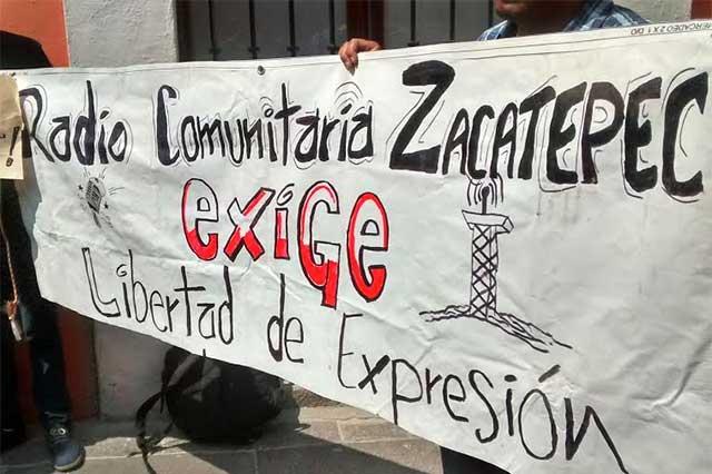 Fiscalía persigue a radio comunitaria de Zacatepec, denuncian