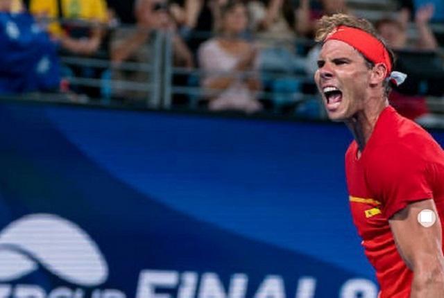 Rafael Nadal tiene gran gesto con joven tras golpearla con una pelota