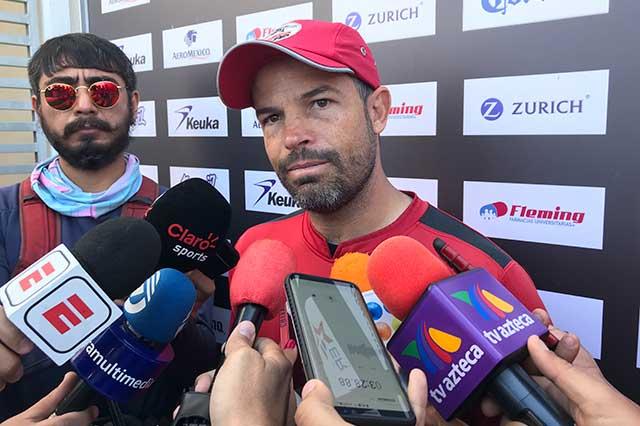 No me siento satisfecho: Rafael Puente
