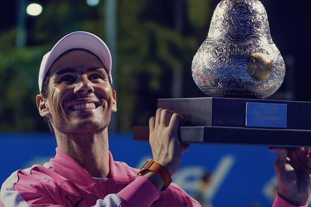 Rafael Nadal no viajará a México para el Abierto de Tenis