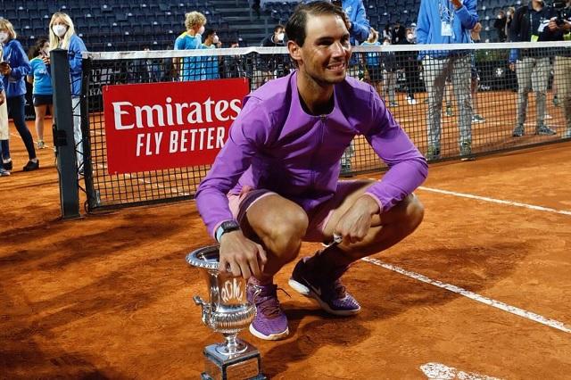 Rafael Nadal conquista su décimo título en el Masters 1000 de Roma