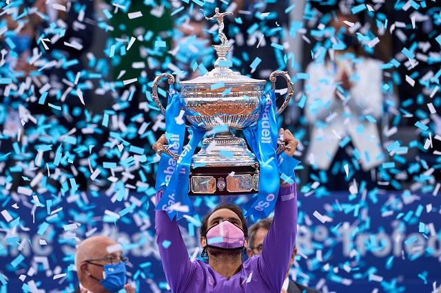 Rafael Nadal, número 2 del Ranking ATP tras coronarse en Barcelona