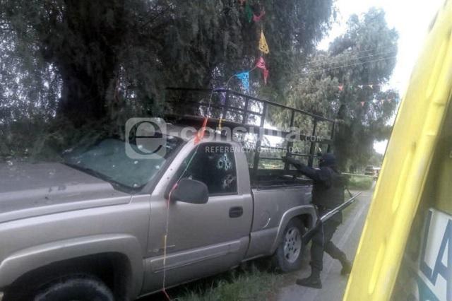 Rafaguean a cuatro hombres en Yehualtepec; sólo uno sobrevivió