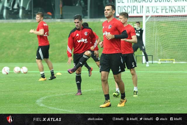 Rafael Márquez regresa a los entrenamientos con el Atlas